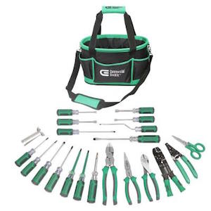 An electricians tools